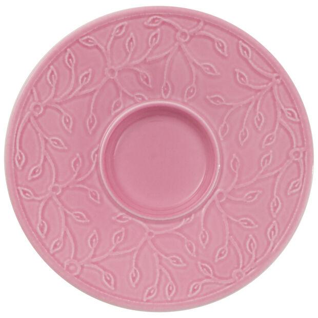 Caffè Club Floral Touch of Rose sous-tasse à moka/expresso, , large