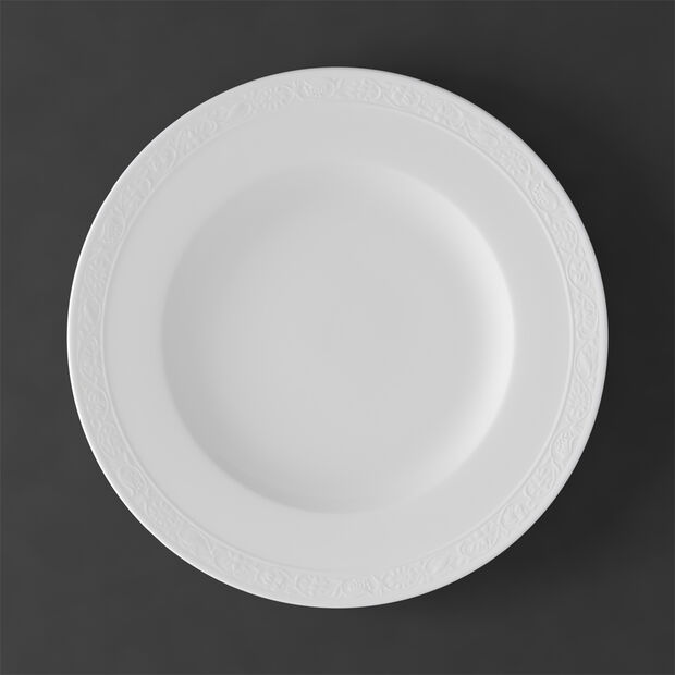 White Pearl assiette plate, , large