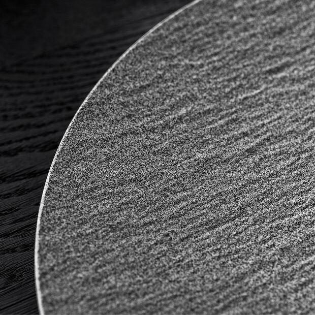 Manufacture Rock Granit assiette plate, coupe, 27cm, grise, , large