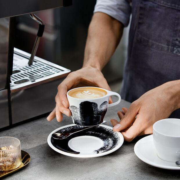 Coffee Passion Awake Tasse à cappuccino avec soucoupe séparée, , large