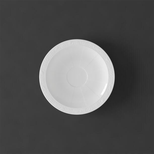 White Pearl sous-tasse à moka/expresso, , large