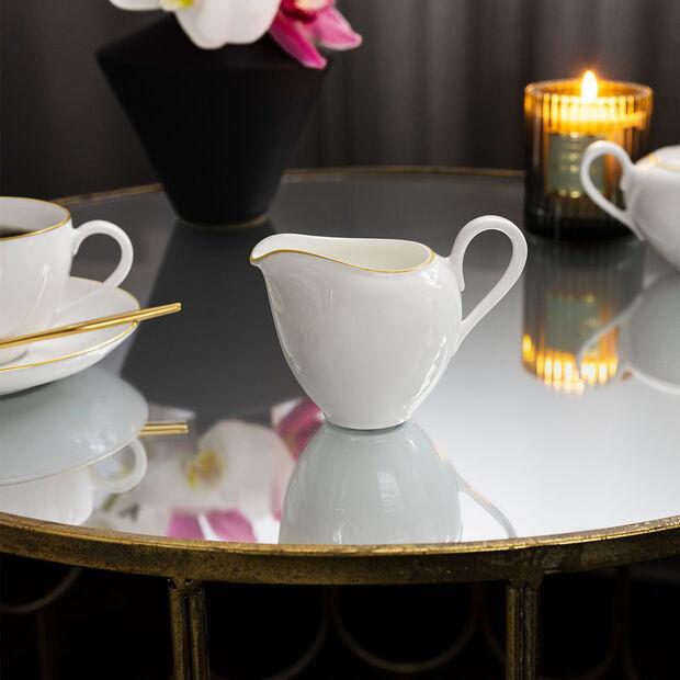 Anmut Gold pot à lait, 210ml, blanc/or, , large