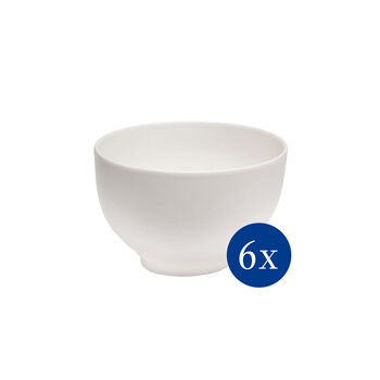 Basic White ensemble de bols, 6pièces, EC