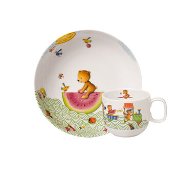 Hungry as a Bear Ens. de vaisselle pr enfants, 2pcs