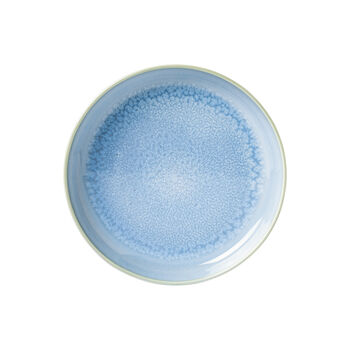 Crafted Blueberry assiette creuse, turquoise, 21,5cm