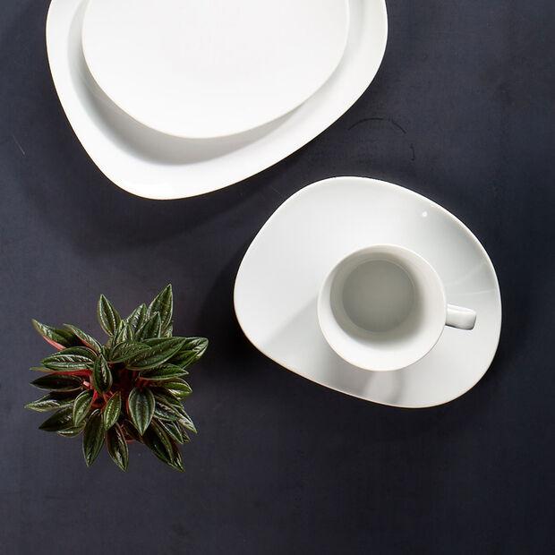 Organic White tasse à café, blanche, 270ml, , large