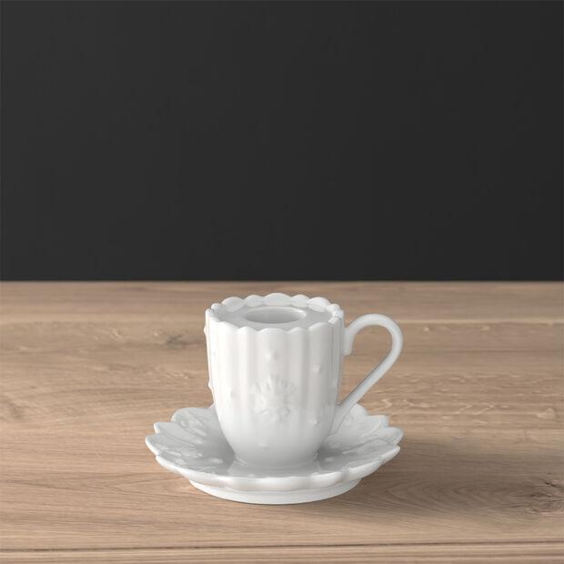 Toy's Delight Royal Classic Decoration bougeoir en forme de mug à anse, 10x6cm, , large