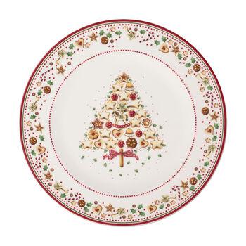 Winter Bakery Delight assiette de présentation, rouge/multicolore
