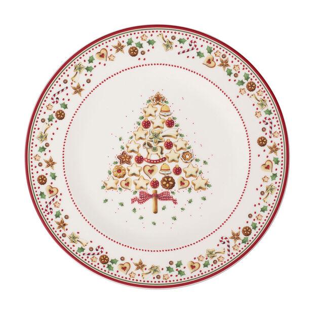 Winter Bakery Delight assiette de présentation, rouge/multicolore, , large