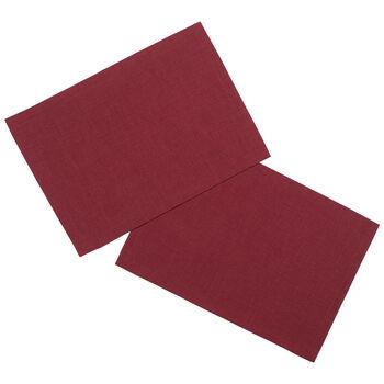 Textil Uni TREND Set de table bordeaux S2 35x50cm