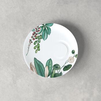 Avarua sous-tasse à expresso, 14,5cm, blanche/multicolore