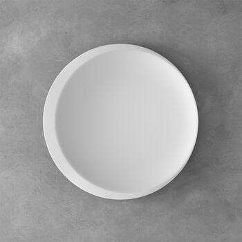 NewMoon plat de présentation, 37cm, blanc