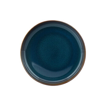 Crafted Denim assiette creuse, bleu, 21,5cm