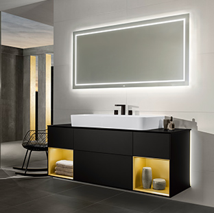 tendances de salles de bains un bien tre au niveau maximum villeroy boch. Black Bedroom Furniture Sets. Home Design Ideas