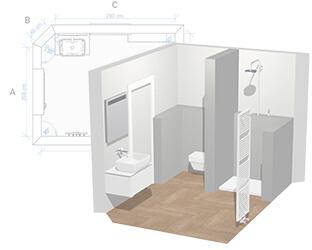 Programme de conception de salle de bains concevoir en - Concevoir salle de bain 3d gratuit ...