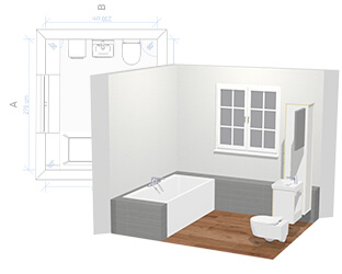 Programme de conception de salle de bains : concevoir en ligne sa ...