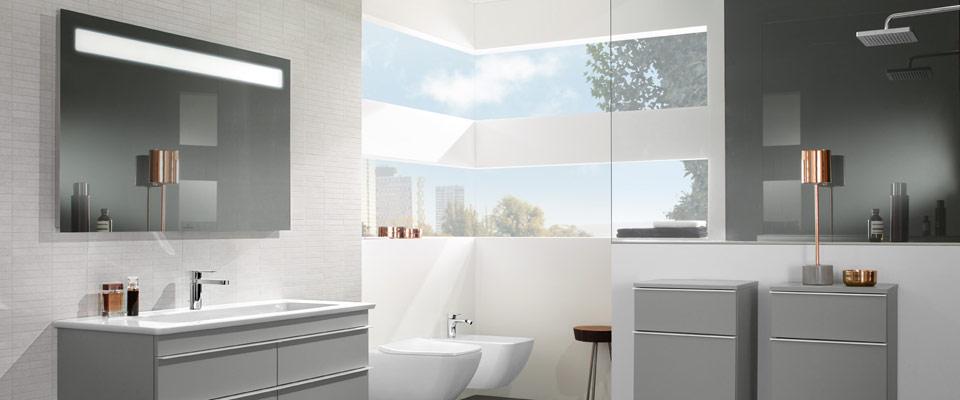 Faire entrer la lumi re dans la salle de bains villeroy - Salle de bain lumiere ...