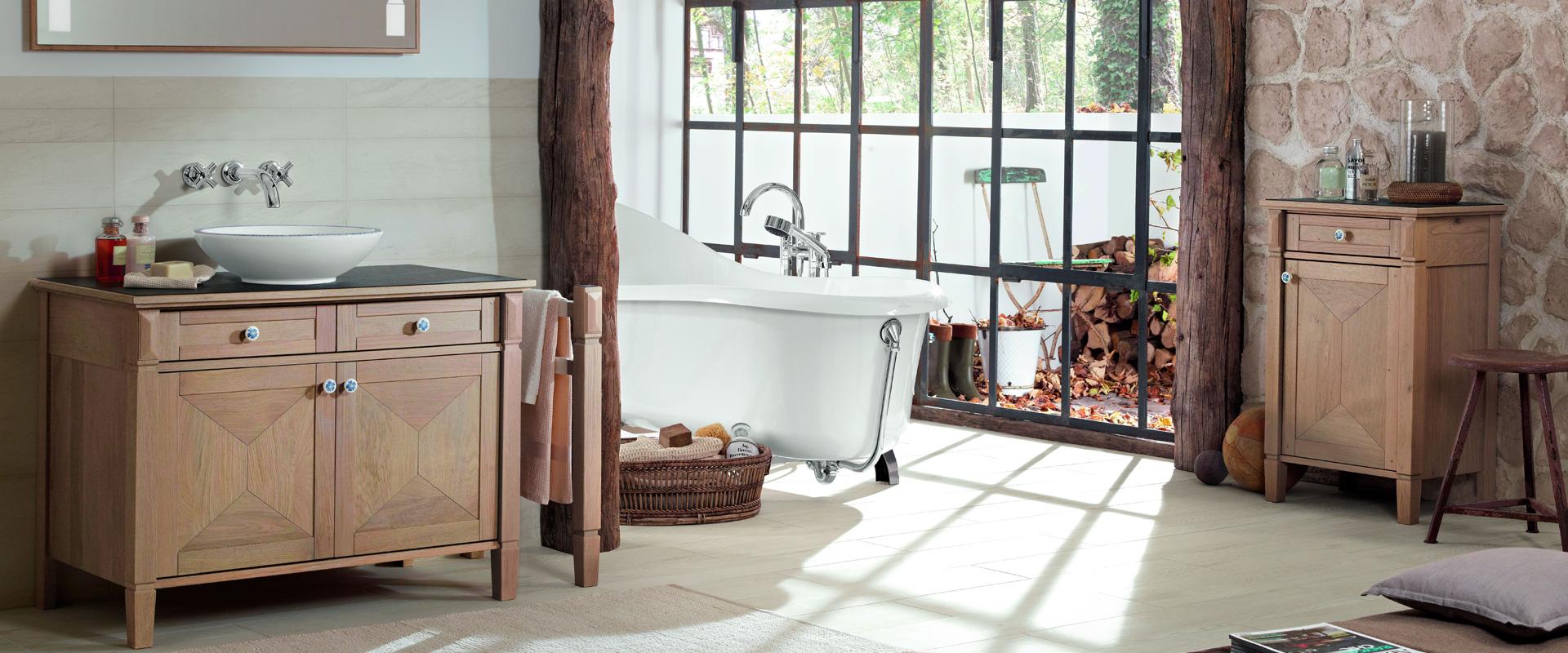 Meuble de salle de bains en bois – voici comment entretenir votre ...