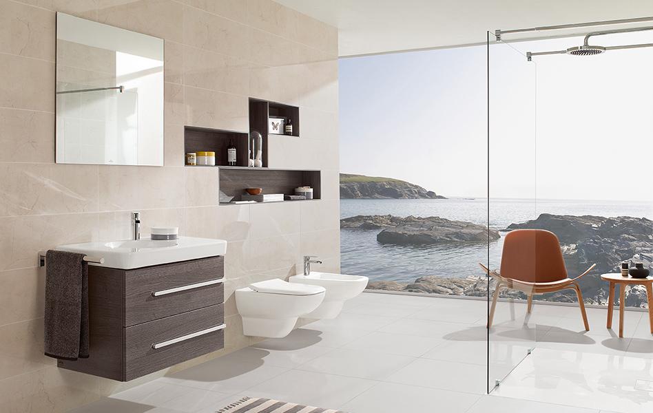 Showroom villeroy et boch table de cuisine - Carrelage villeroy et boch salle de bain ...