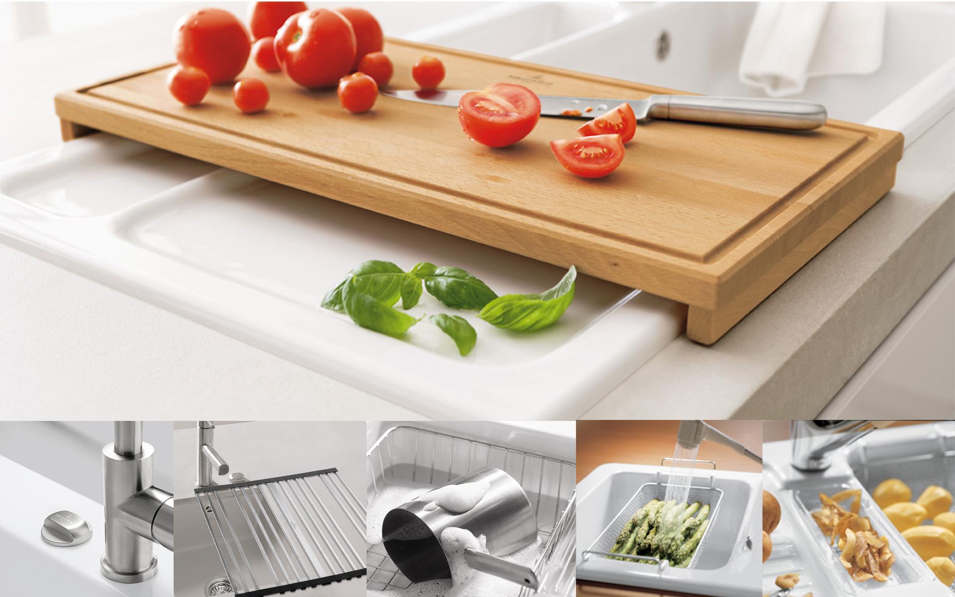 Accessoires de cuisine de villeroy boch pour une for Accessoire pour cuisine