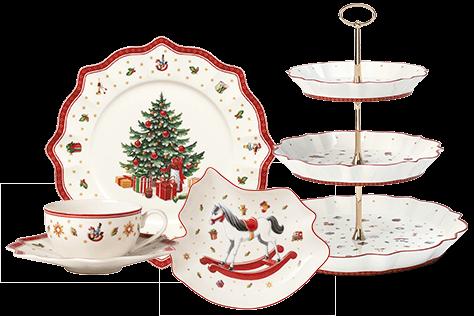 Petit-déjeuner de Noël avec Villeroy & Boch