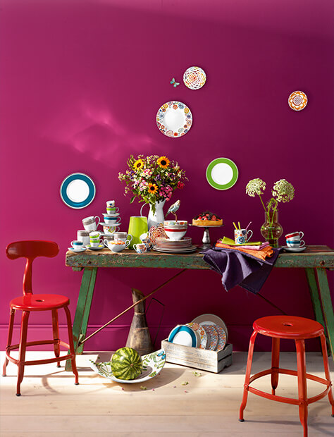 vaisselle faire du neuf avec du vieux villeroy boch. Black Bedroom Furniture Sets. Home Design Ideas