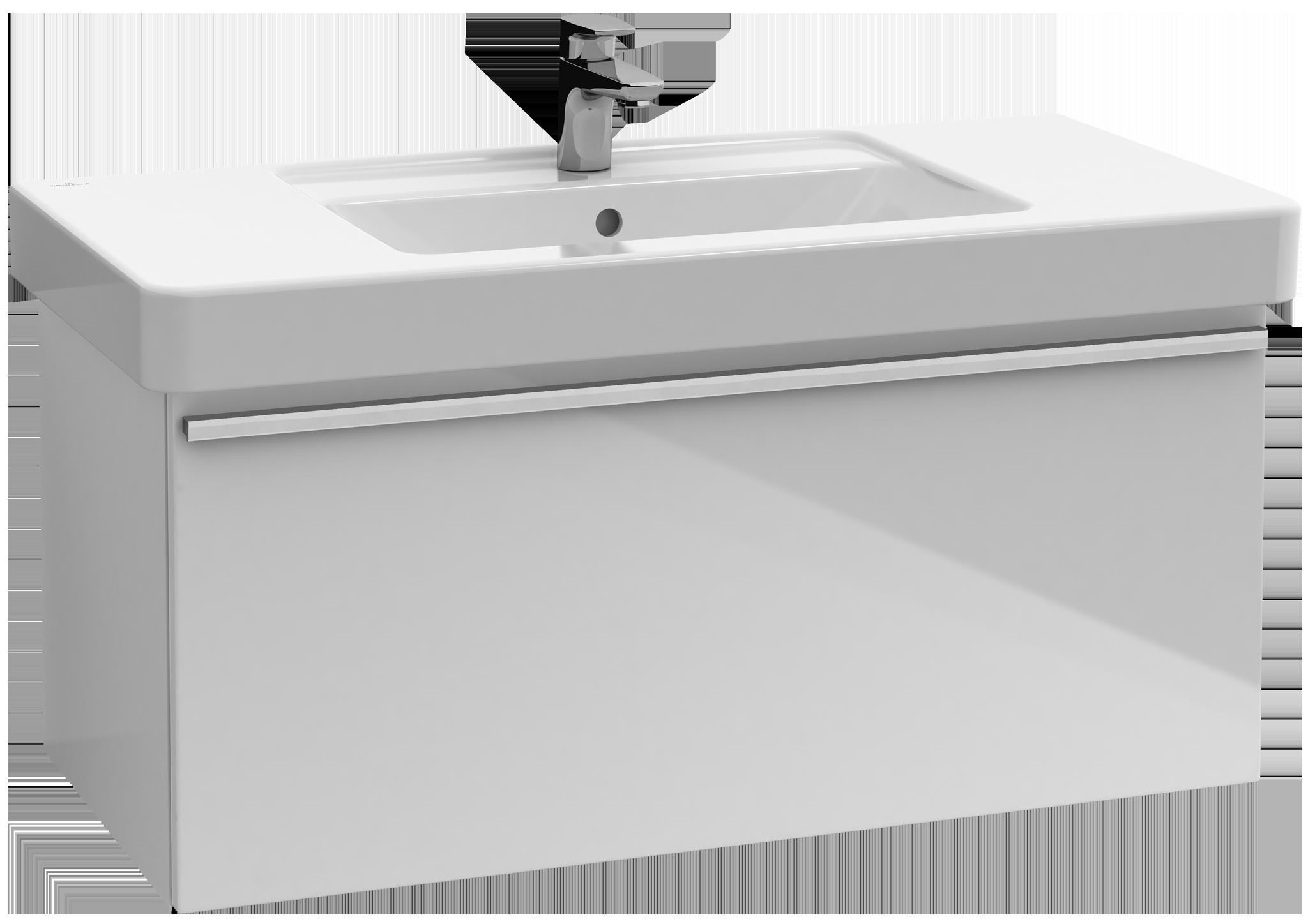 Central line meuble sous lavabo a273n2 villeroy boch for Meuble sous lavabo fly