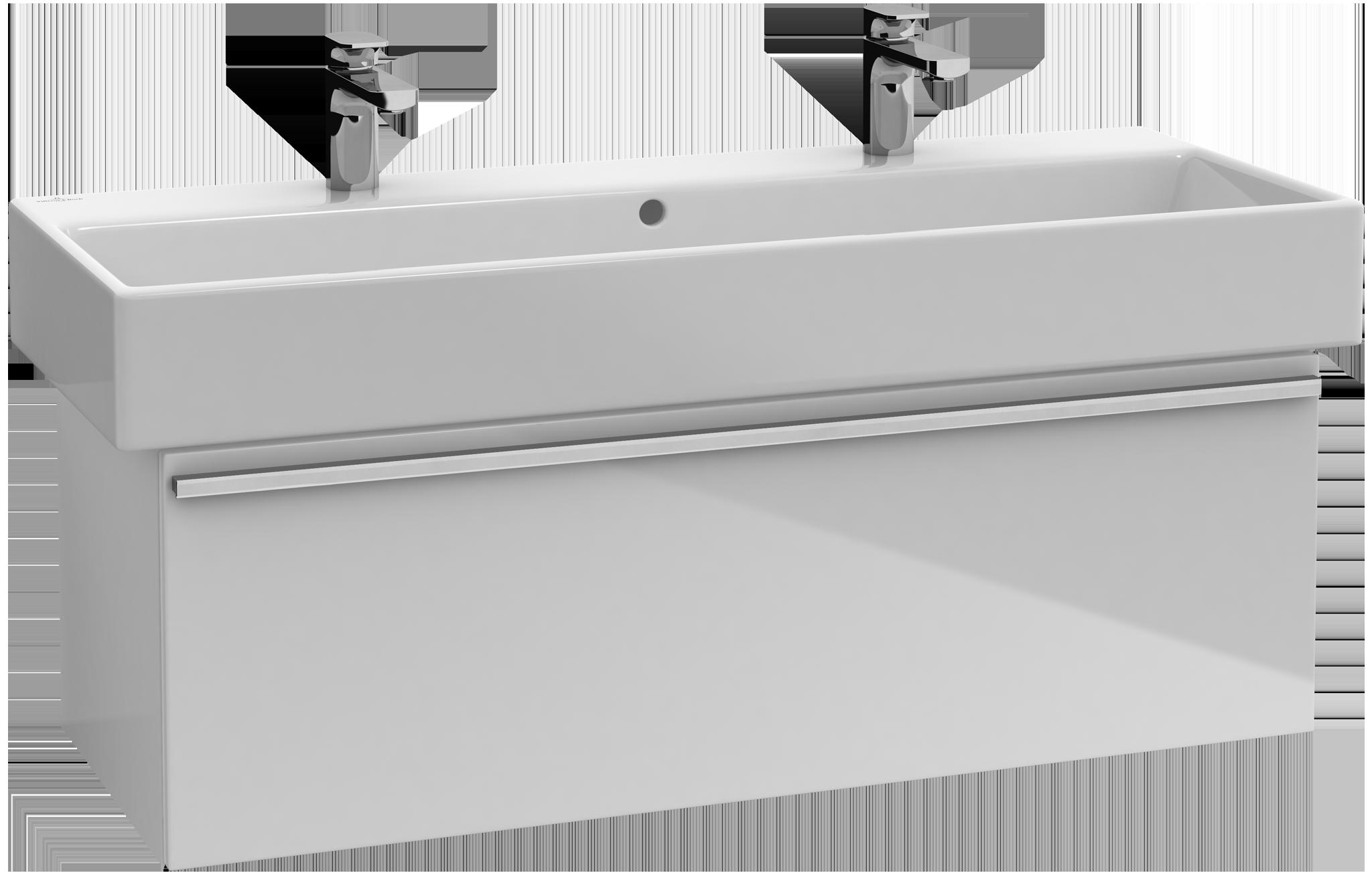 Central line meuble sous lavabo a290e2 villeroy boch for Meuble sous lavabo
