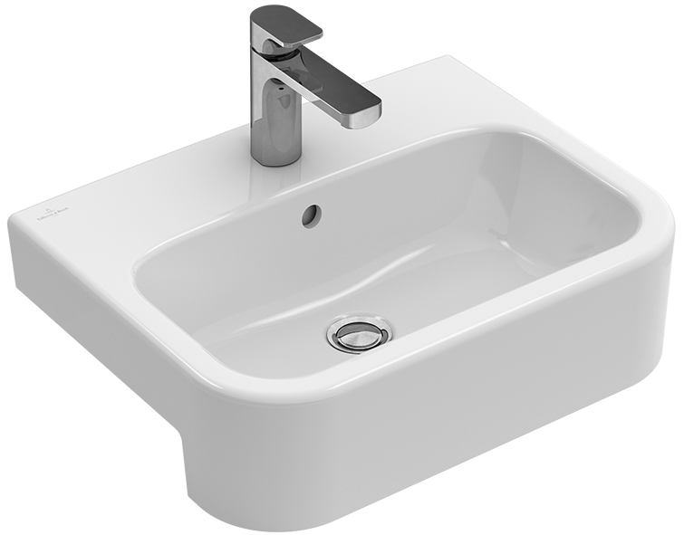 architectura vasque semi encastr e angulaire 419055. Black Bedroom Furniture Sets. Home Design Ideas