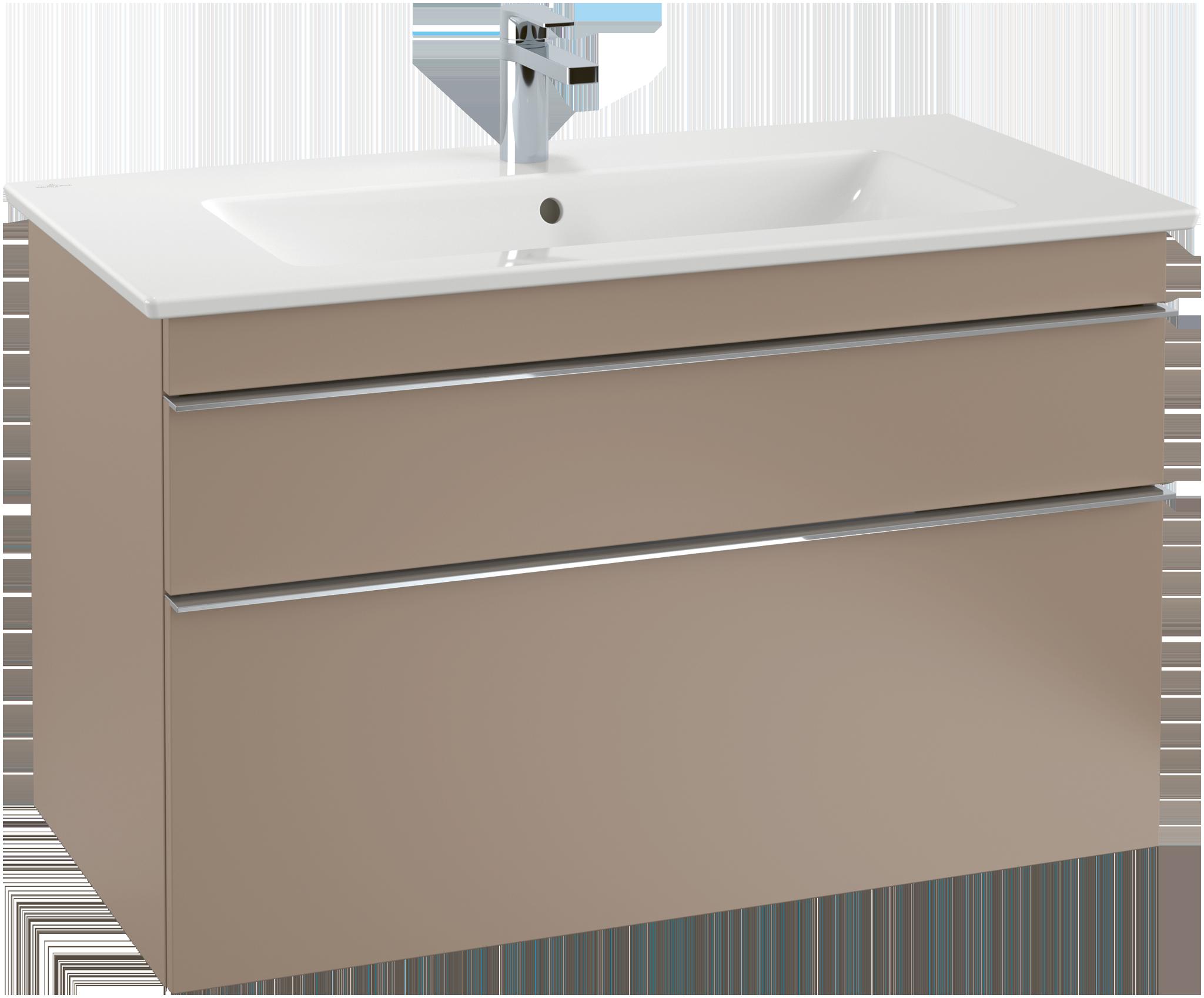 Venticello meuble sous lavabo a92504 villeroy boch for Meuble sous lavabo fly