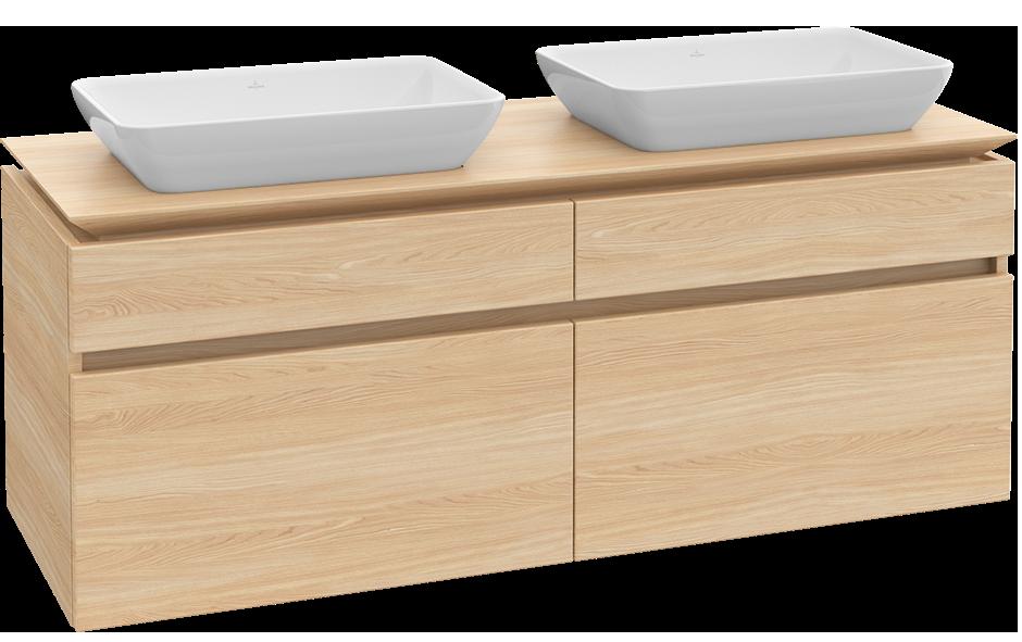 Legato meuble sous lavabo b23500 villeroy boch for Meuble salle de bain villeroy et boch